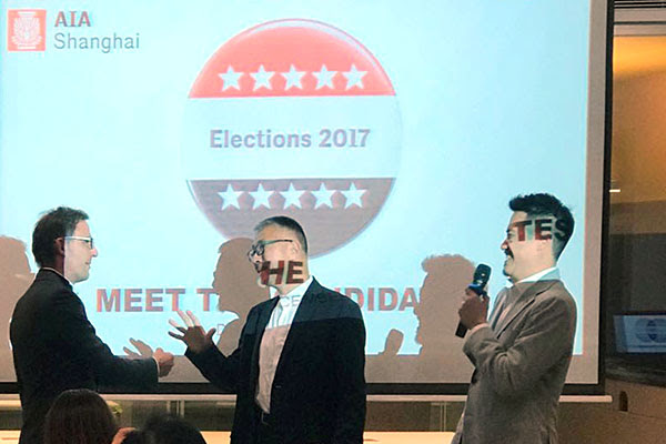 Chapter Elections | Meet the Candidates   December 7, 2017  We had a great evening at MATSU's showroom meeting Jason and Silas, candidates for Vice President in 2018. Incoming President Alton Chow acted as MC for this upbeat and friendly event.