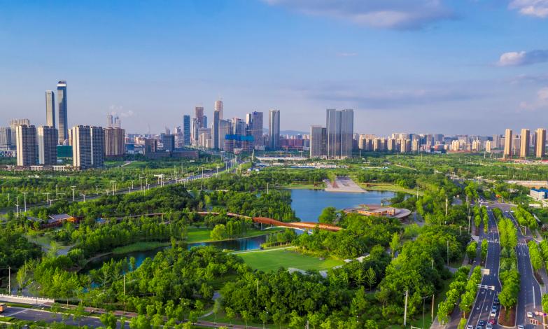 Nanjing Hexi Urban Eco Park - AECOM - Finalist
