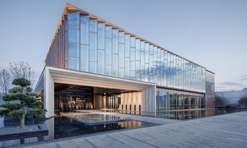 GREENLAND INTERNATIONAL EXPO CITY RETAIL & SERVICE CENTER - Shanghai UA Architectural Design Corp. - Finalist