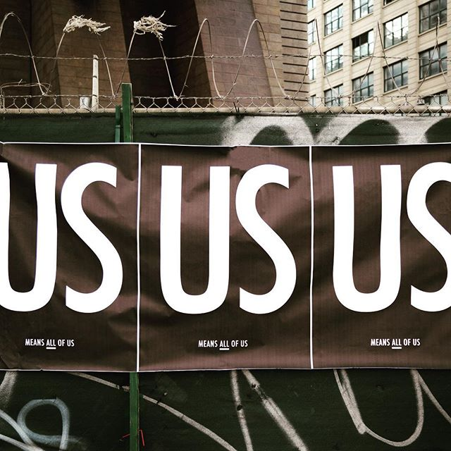 Head to the website to download the free poster file. Print, post and tag #usmeansallofus to show your support! . . . . . . #peace #poster #love#unity #lovetrumpshate #respect#tolerance #diversity #together#unitedwestand #unitedstates #america#usa #us #resist #activism #humanrights#womensrights #lgbtrights#blacklivesmatter #nyt #nyc #brooklyn#design #graphicdesign #art #artwork#change