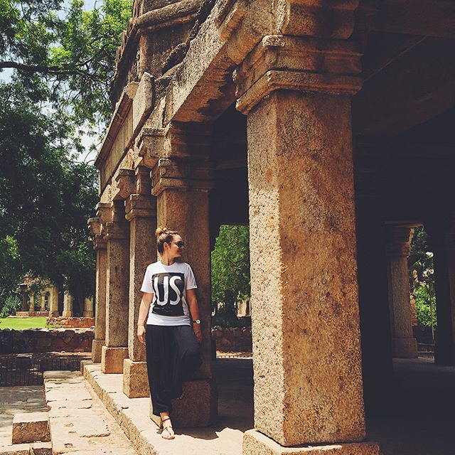 Thanks to @katiekingrumford and @prumford for representing US Means All of Us all the way in Delhi and Mumbai! Go to usmeansallofus.com to get your shirt. . . . .  #usmeansallofus #shirts #swag #delhi #mumbai #india #support #respect #love #unity #lovetrumpshate #tolerance #diversity #together #unitedwestand #unitedstates #america #usa #us #resist #activism #humanrights #womensrights #lgbtrights #blacklivesmatter #nyt #nyc #design #graphicdesign #art