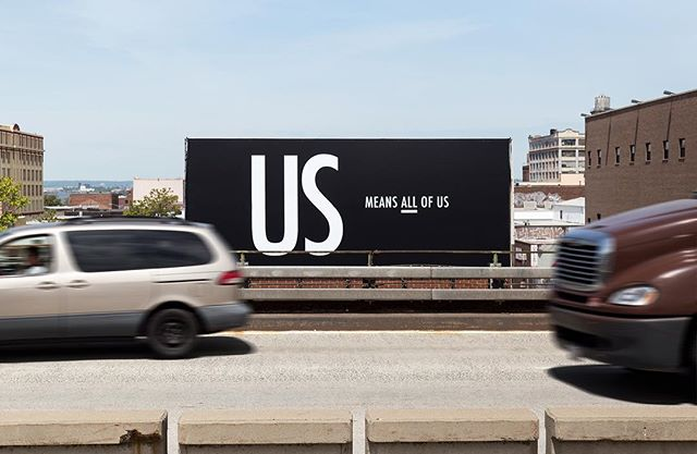 Our case study is now live! Head to selmandesign.com/us-means-all-of-us/ to get a more in depth look at our initiative. . . . . #usmeansallofus #billboard #brooklyn #nyc #respect #love #unity #lovetrumpshate #tolerance #diversity #together #unitedwestand #unitedstates #america #usa #us #resist #activism #humanrights #womensrights #lgbtrights #blacklivesmatter #design #graphicdesign #art