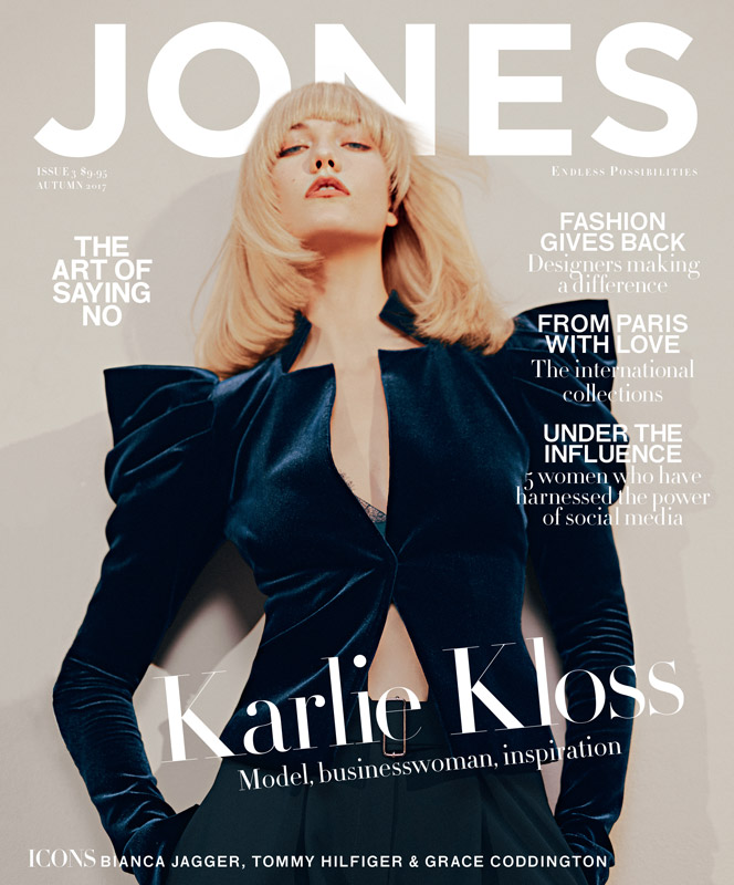 JONES MAGAZINE  KARLIE KLOSS