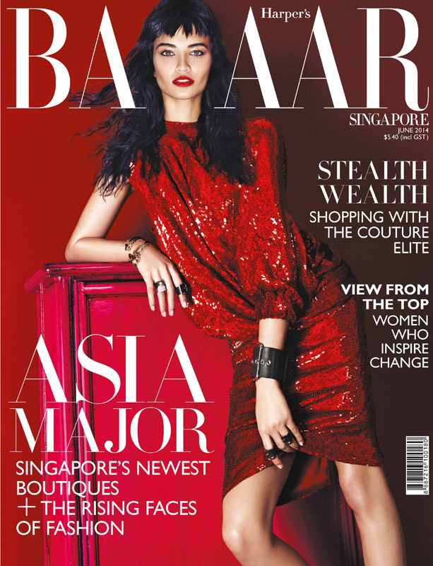 SINGAPORE HARPERS BAZAAR  JUNE 14