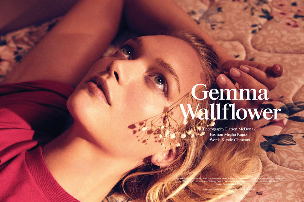 INPRINT MAGAZINE  gemma ward