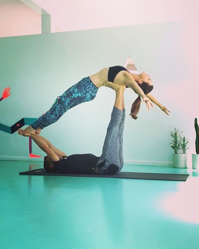 👀 BEGINNING ACROYOGA CLASS 👀 🐠 @loveyogaspace today 12:30-1:30pm 🐠 👣 new student special 3 classes for $30 👣  it's @domdoesyoga first class at Love Yoga in Venice and we're super excited! Come join in on the fun and learn something new, even if you're a practiced AcroYoga, Dom breaks it down in ways that can help enhance your practice at whatever level you need! 🤙🏼 No partner necessary 🤙🏼
