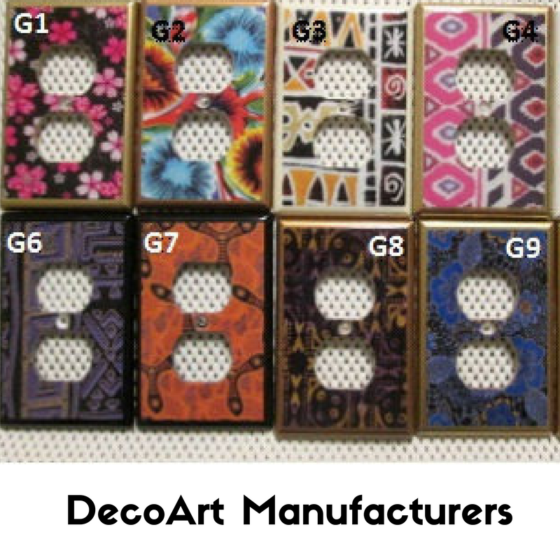 DecoArt Manufacturers - January 2018