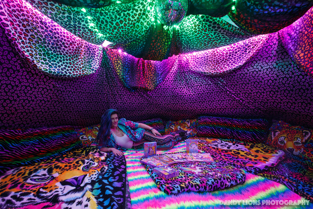 Lisa Frank Healing Dome
