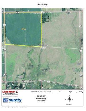 Tract Acres Irrigated Polk County Farm Land Mark - Surety maps