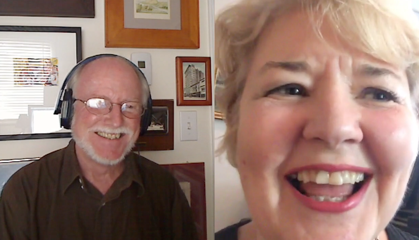 Interviewing pianist   Gayle Martin