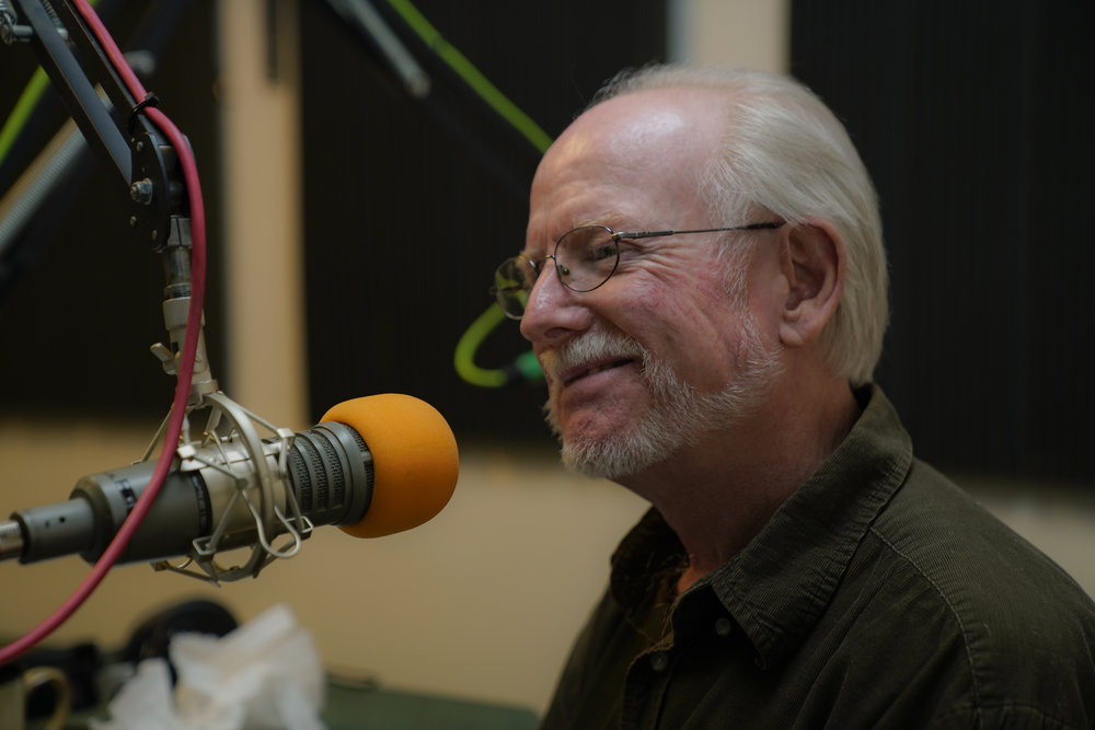 Daniel Kepl during a radio interview about   Emeriti Philharmonic  's Cuba tour in 2017