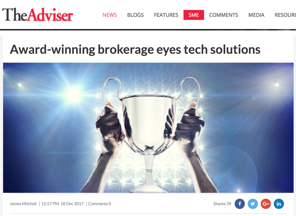 Award-winning brokerage eyes tech solutions  Over the years, The  Australian Lending and Investment Centre  (ALIC) has proven to be powerhouse in investment lending and produced some of the highest volume brokers in the industry. The Melbourne-based brokerage's chief executive, Jason Back, told The Adviser why technology will play an increasingly important role in the industry.