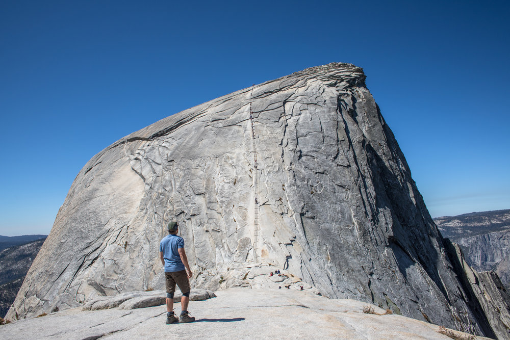 Half Dome // Photo: Me! (Randy Johnson)