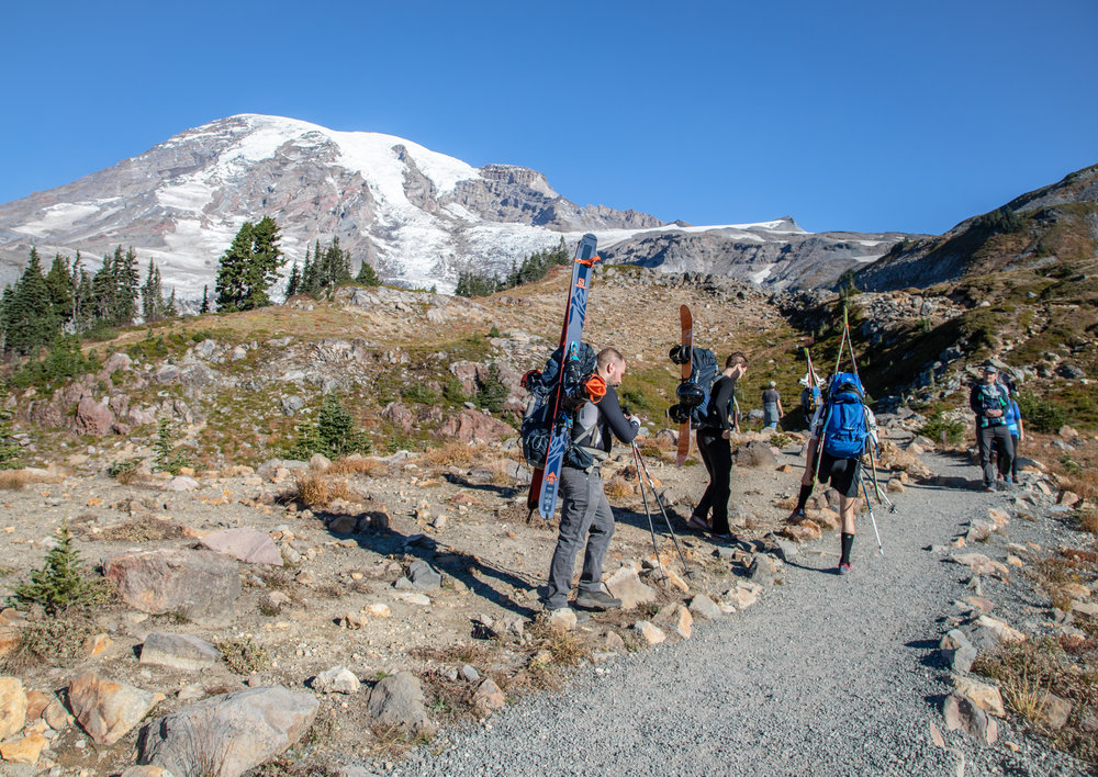 Mount Rainier // Photo: Me! (Randy Johnson)