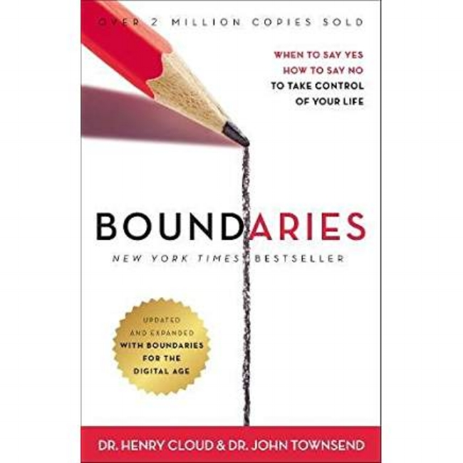 Boundaries                              by Dr. Henry Cloud &  Dr. John Townsend
