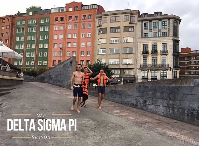 """Welcome to our new series """"OFF SEASON"""" where we highlight some of the incredible things our brothers have been doing whether they be working internships or traveling the world.  The first brother is Jakob Wilter! He has been exploring Spain for the last two weeks and will be spending the next two discovering the wonders of France. As summer is coming to a close, Jakob's strategy is to sleep as little as possible so he can take as much in as possible! #offseason #summer #dsp"""