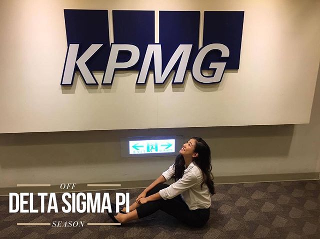 "Brother Vivian Wang decided to head to Taiwan to intern at the audit department of KPMG this summer! Examining financial statements, inspecting account books and accounting system were just a few things she was tasked with. ""I learned a lot about how an actual accounting firm operates and I was really surprised by how much detail oriented my coworkers and managers are."" Throughout her time interning at KPMG, Vivian was able to work with some big clients like Costco, EVA Air and Wistron.  Her takeaway from this rewarding experience was to not fear asking questions and to get to know your coworkers on a more personal level by listening to them and sharing experiences! #offseason #summer"