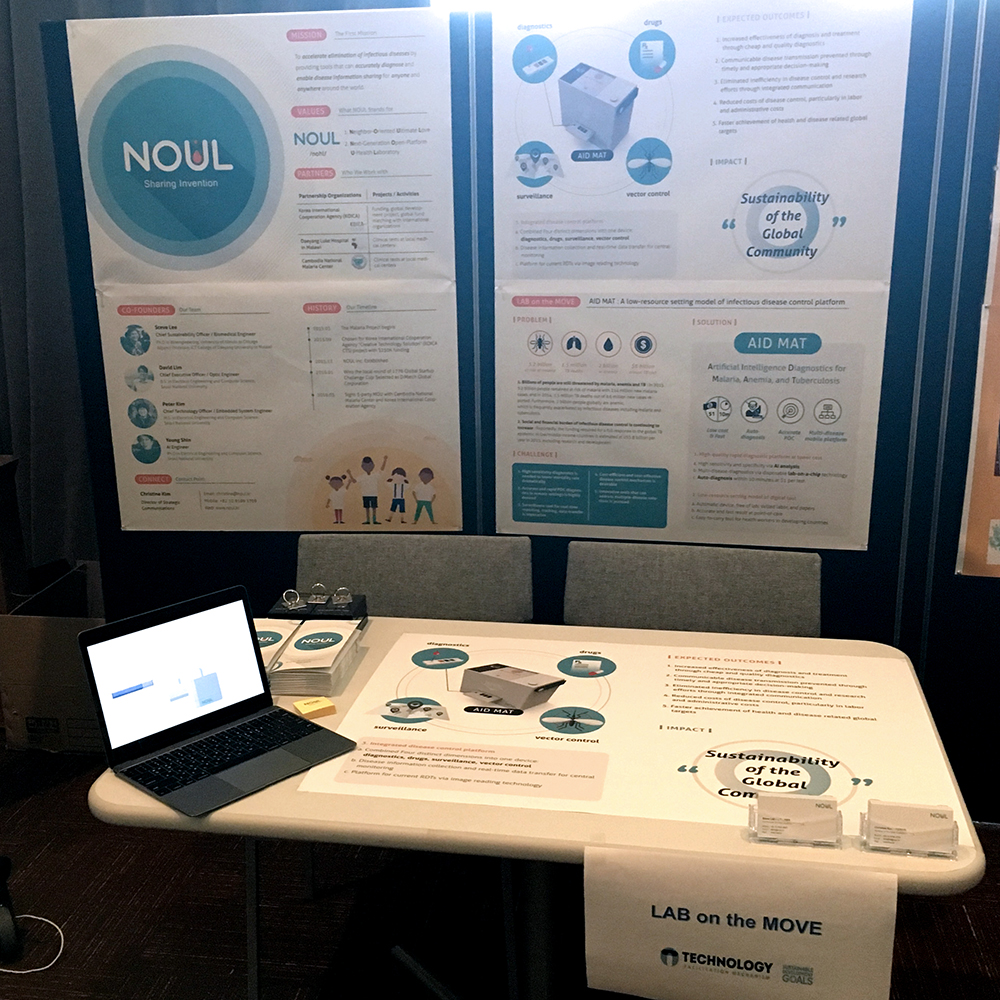 NOUL Exhibition Hub at UN STI Forum