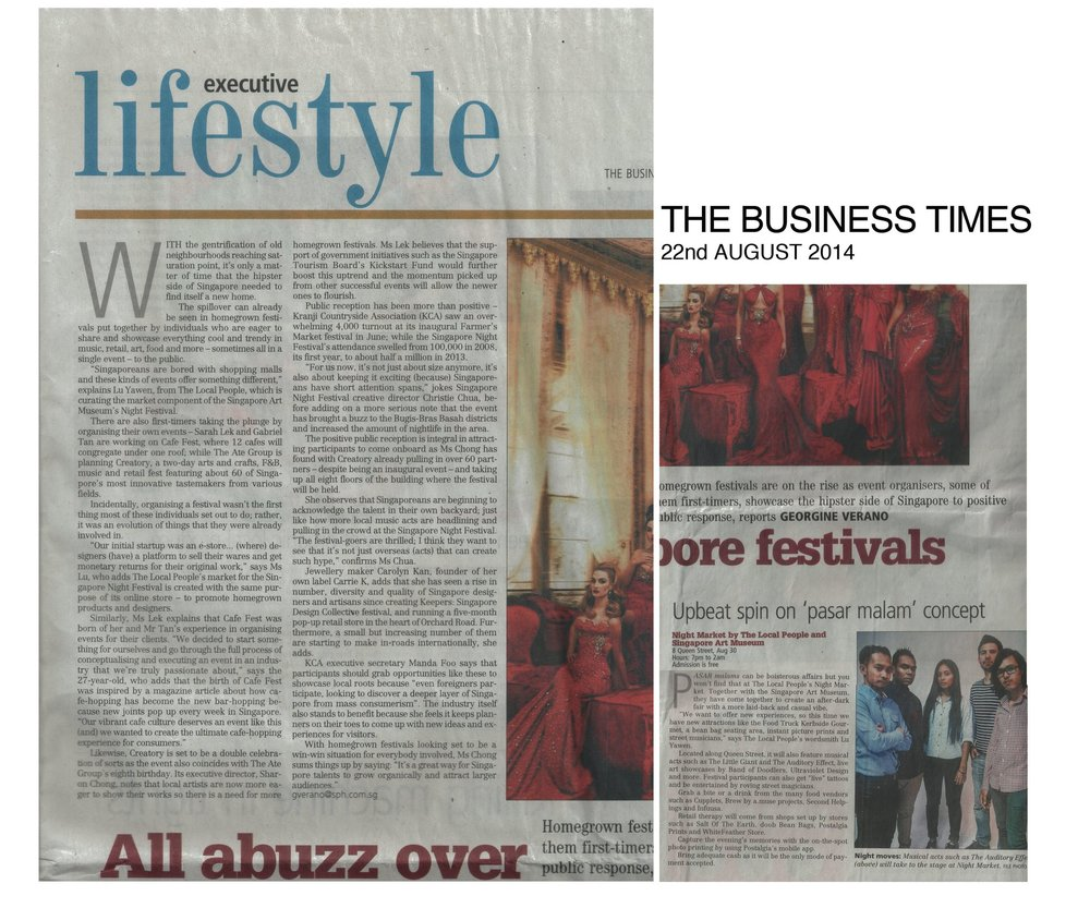 The Business Times August 2014