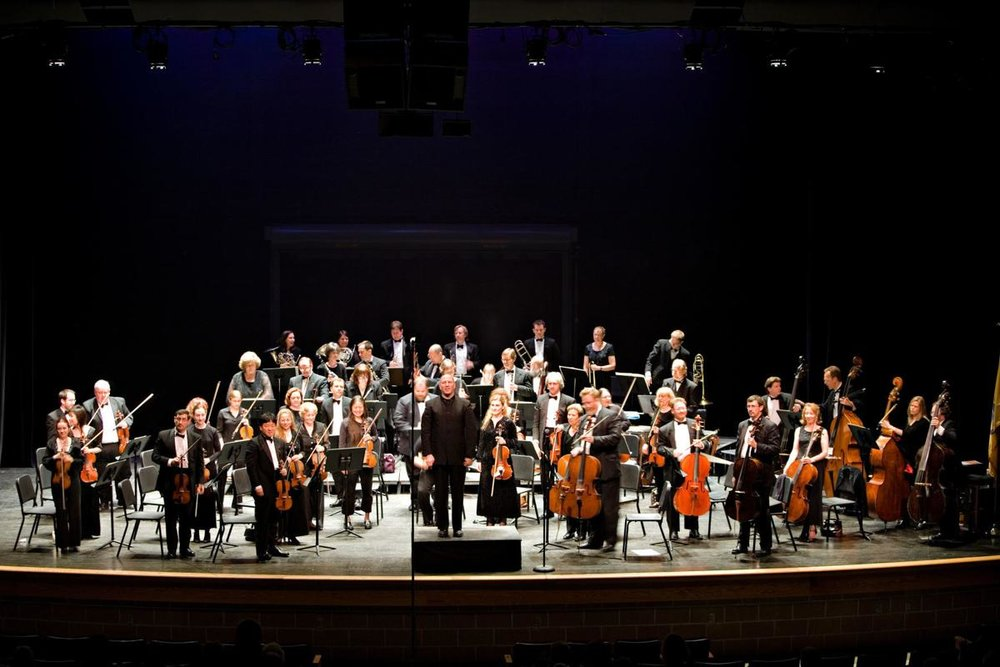 The Bay Atlantic Symphony will perform at the Landis Theater and Stockton's PAC.