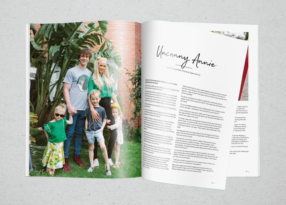 BALLARAT LIFESTYLE MAGAZINE  Design and layout of quarterly regional magazine.
