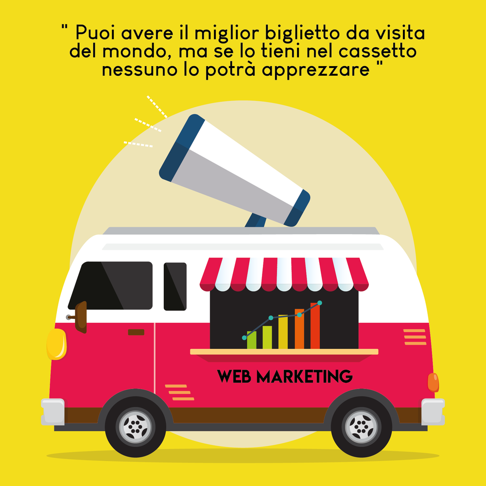 IL WEB MARKETING GENERA VISITE E, DI CONSEGUENZA, INTROITI SUL WEB -