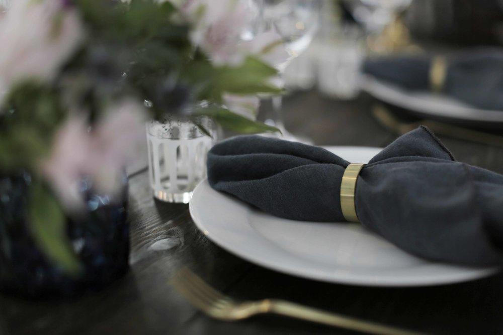 Tidsvarende og smukke borddækninger