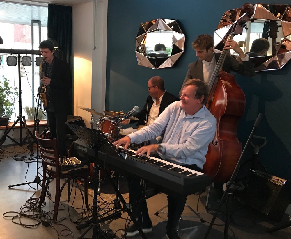 Jazz aften med Lennart Ricard, Nulle og husorkester