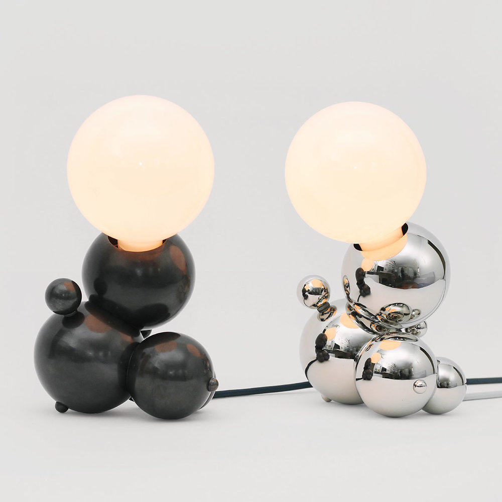 BUBBLY 01-LIGHT LG TABLE LAMP