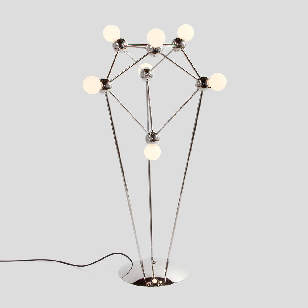 LINA 07-LIGHT FLOOR LAMP