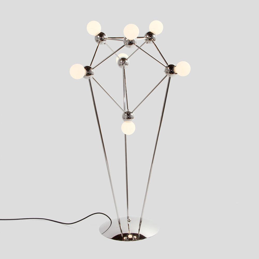 LINA 07-LIGHT FLOOR LAMP    See Lina series