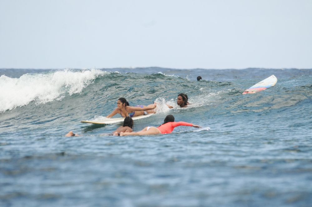 PRIVATE SURF LESSON  -  500 pesos per hour including the board rental2500 per day for daily surf package
