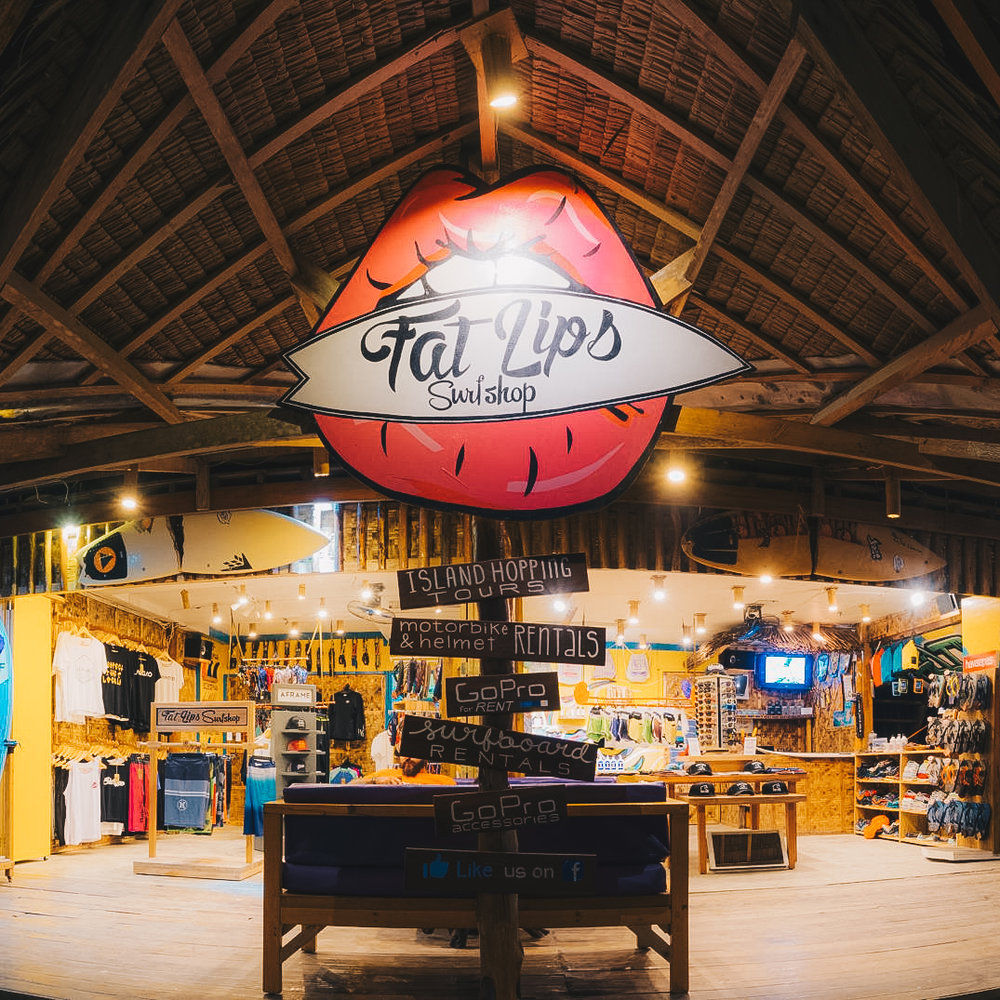 Fat lips SIARGAOSurfShop  - @fat_lips_surfshop   |   website