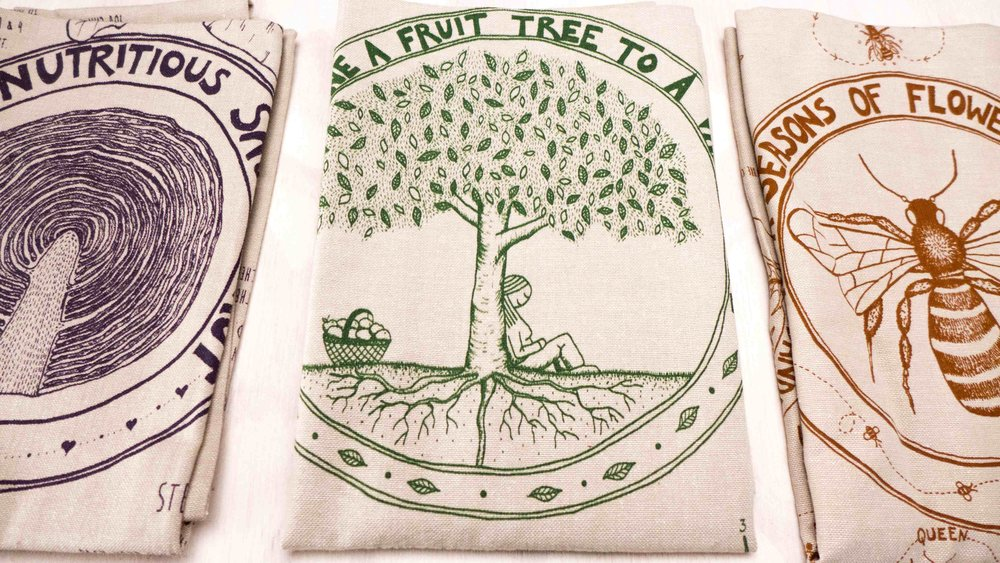 Good Life Permaculture tea towels.jpg