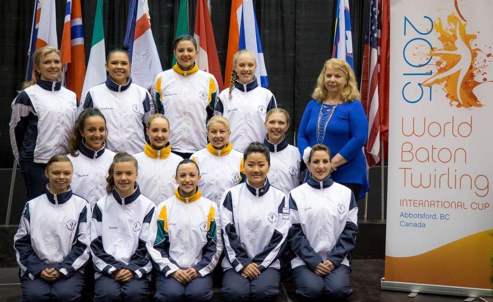 2015 International Cup Team. (Abbotsford CANADA )