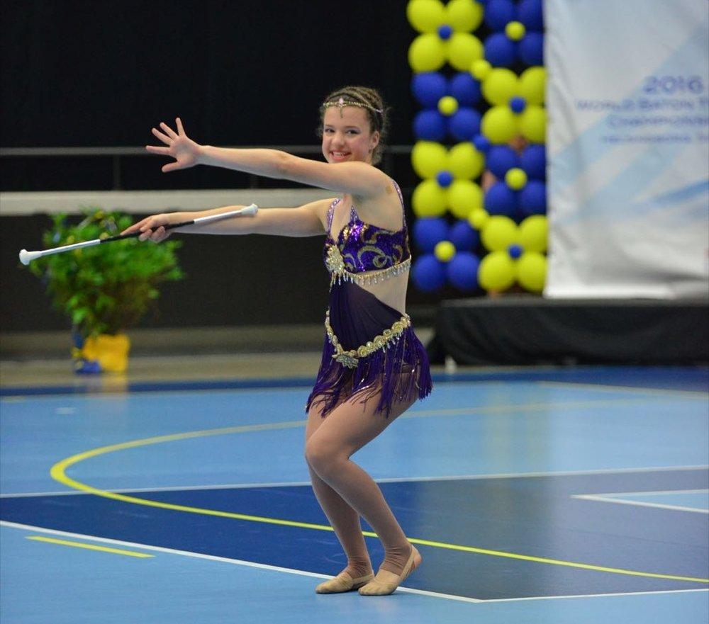 Renae Edmunds Junior Woman Freestyle World Championships 2016