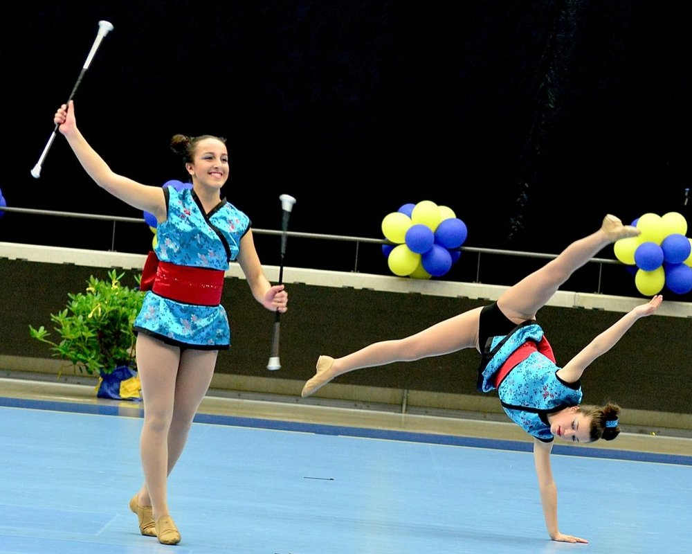 2016 Australian Junior woman Pairs representatives (Helsingborg, Sweden)