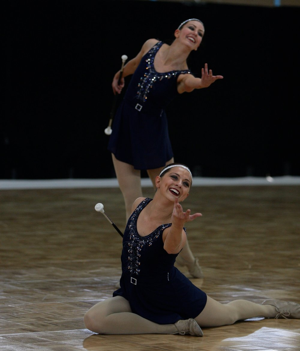 2012 Senior World Pairs Natalie Morris and Carly Scullion