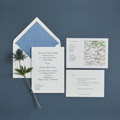 harmsworth fine stationerypersonalised wedding invitation sets with