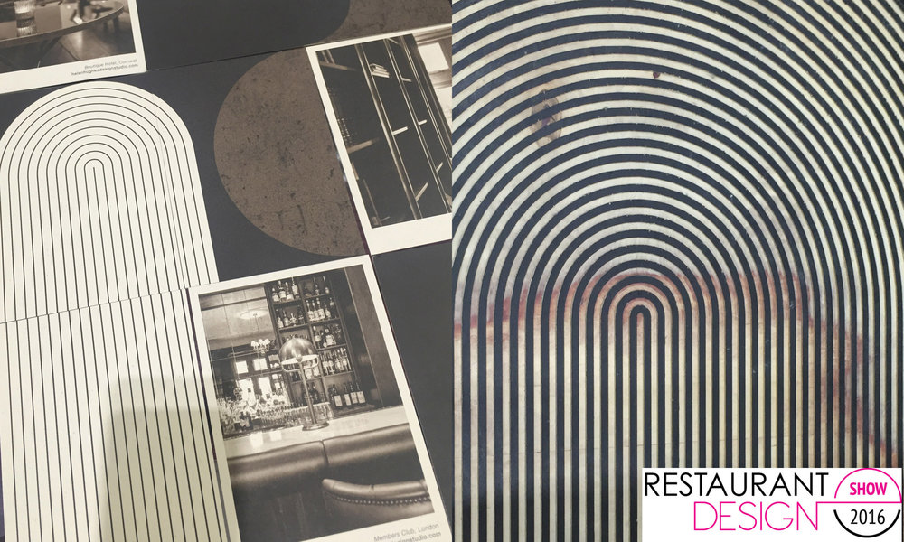 The Restaurant Design Show 2016 Helen Hughes Design