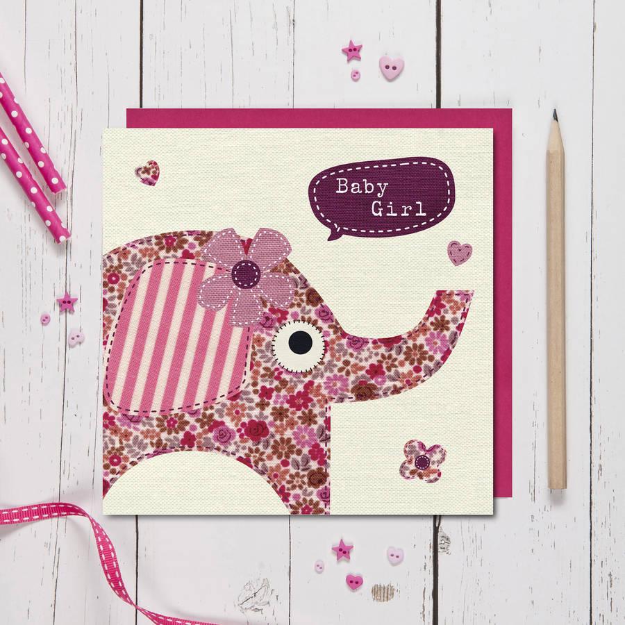 Fabrik Baby Girl Card