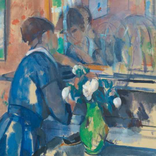 Schilderij van Rik Wouters, nog tot 2/7 te zien in het KMSK