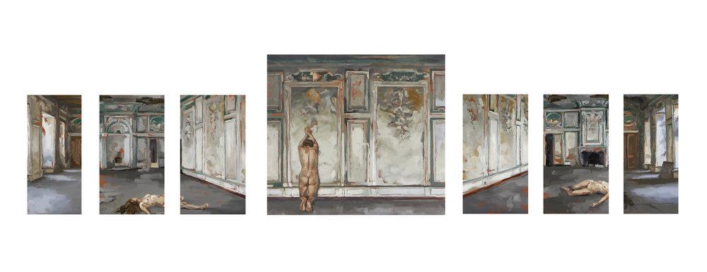 Russische ziel set 4 schilderijen Maartje Elants.jpg