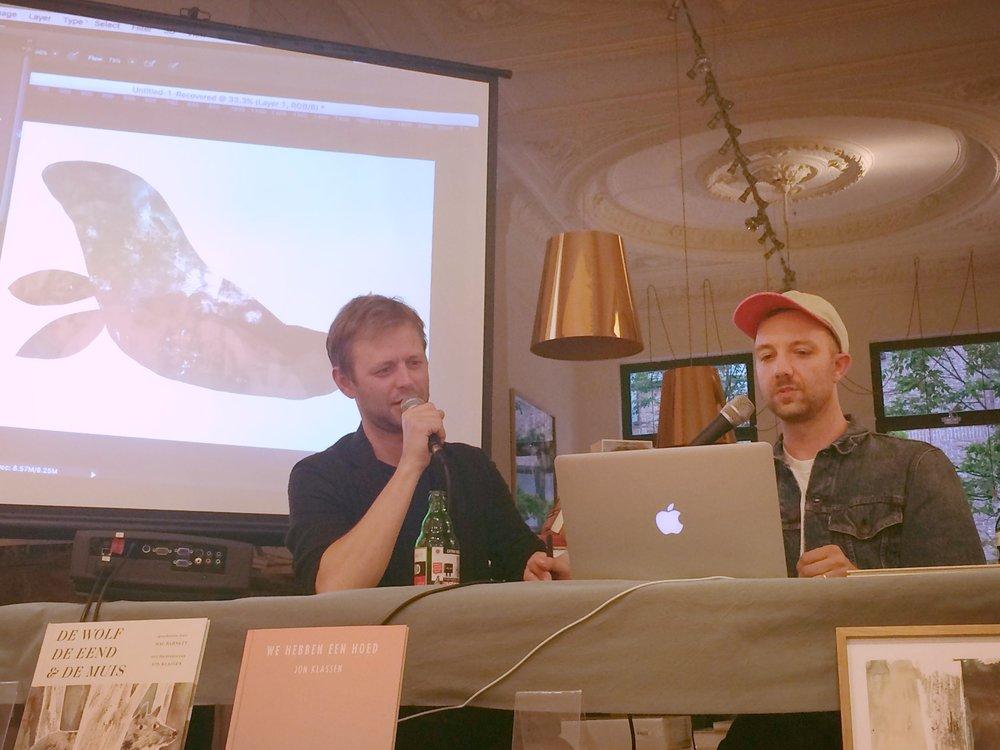 Jon toont hoe hij digitaal een zeehond tekent