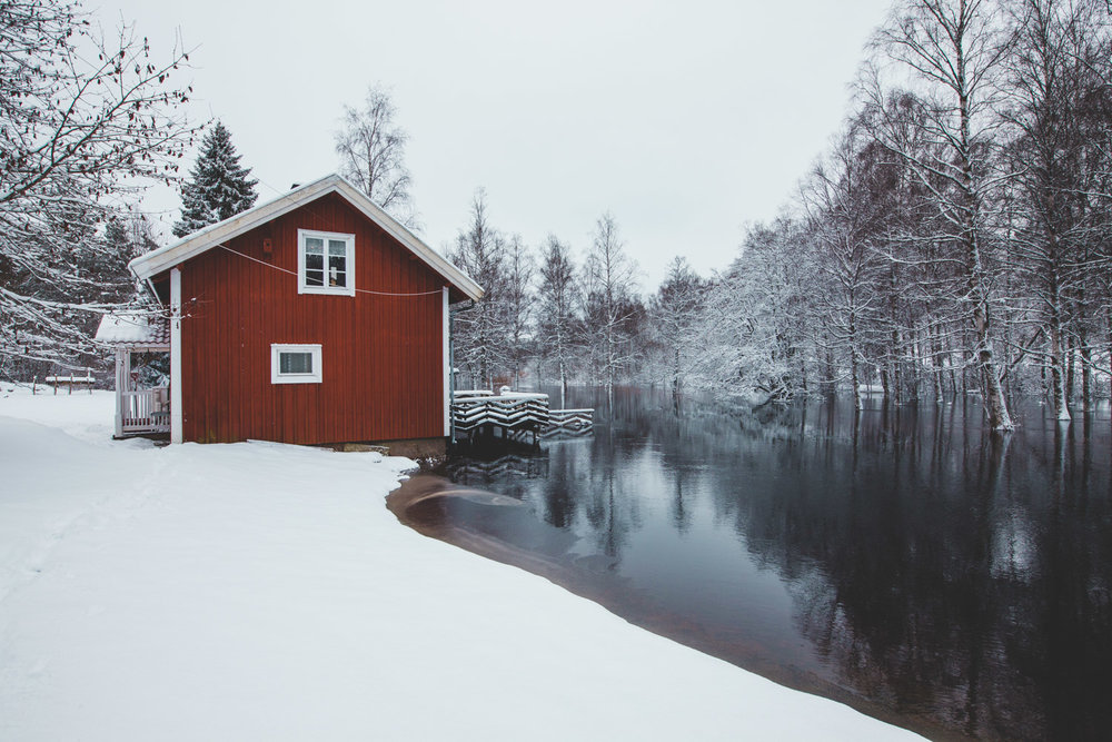 SIMK cabin in sweden