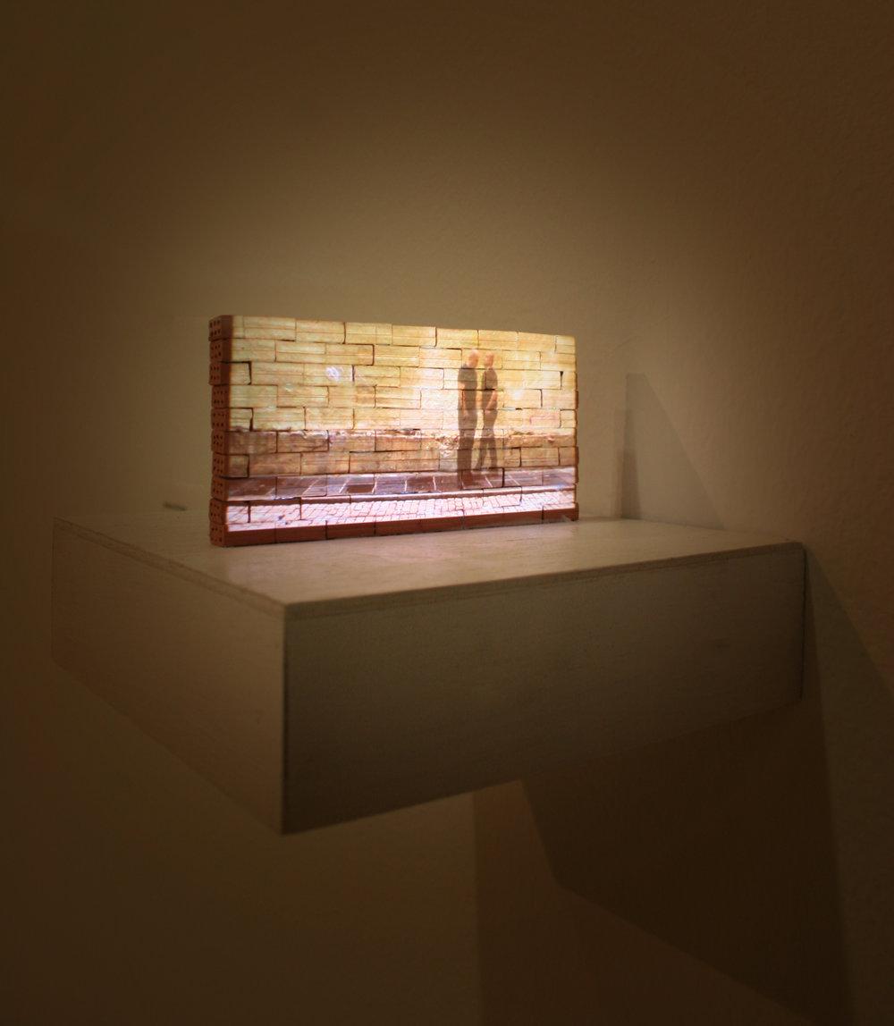Meditative [E]States. Videoonstallation. 5x10cm. Madrid, 2012.