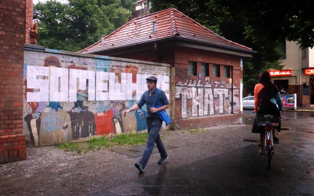 Wordactions, Berlin, 2014.