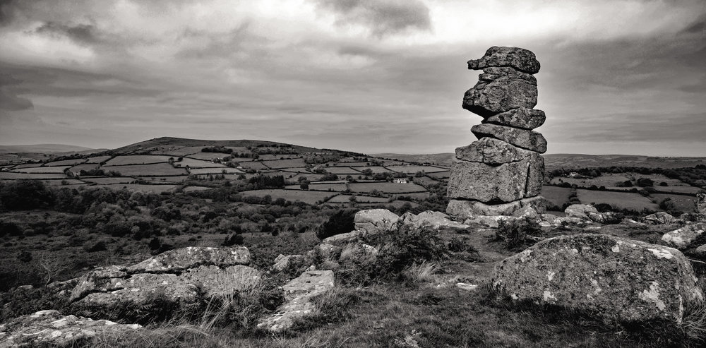 The iconic tor of Bowerman's Nose on Dartmoor has all kinds of scrambling potential