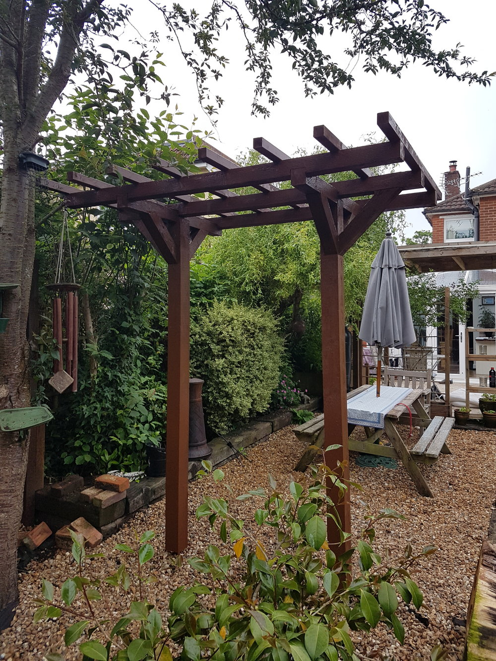Pergola design and Garden maintenance in Chandlers Ford, Eastleigh, Southampton, Romsey, Winchester