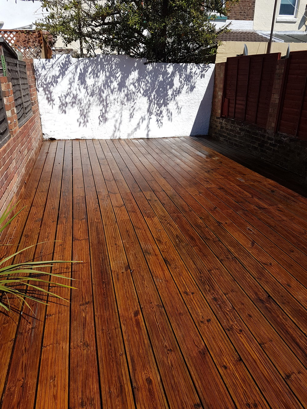 Decking and cover